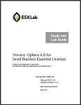 VMware vSphere 6.0 for Small Business Essentials Licenses - Course Book Set