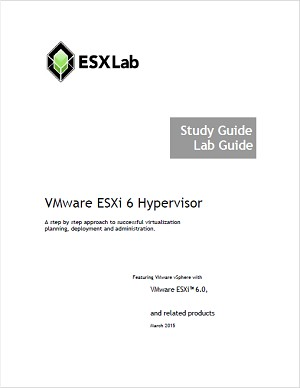 VMware ESXi 6 Hypervisor - Course Book Set
