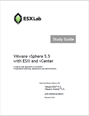 VMware vSphere 5.5 Boot Camp - Course Book Set