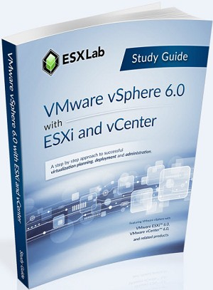 VMware vSphere 6.0 with ESXi and vCenter - Course Book Set